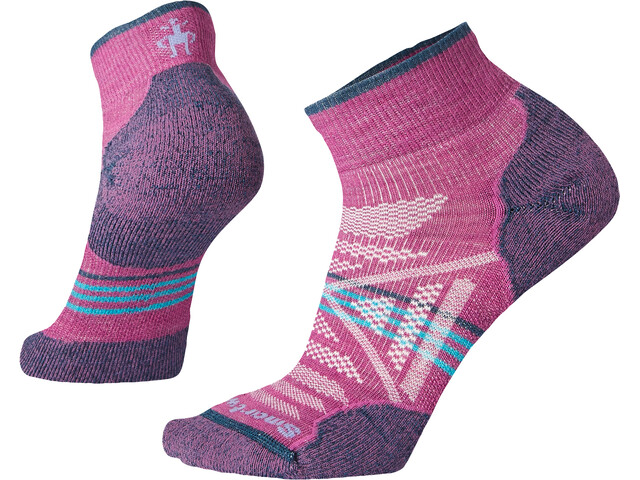 Smartwool PhD Outdoor Light Mini Chaussettes Femme, meadow mauve